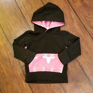 Other - Pink deer hoodie